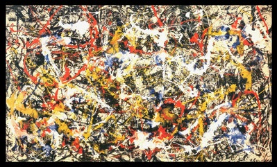 """Convergence"" by Jackson Pollock, 1952."